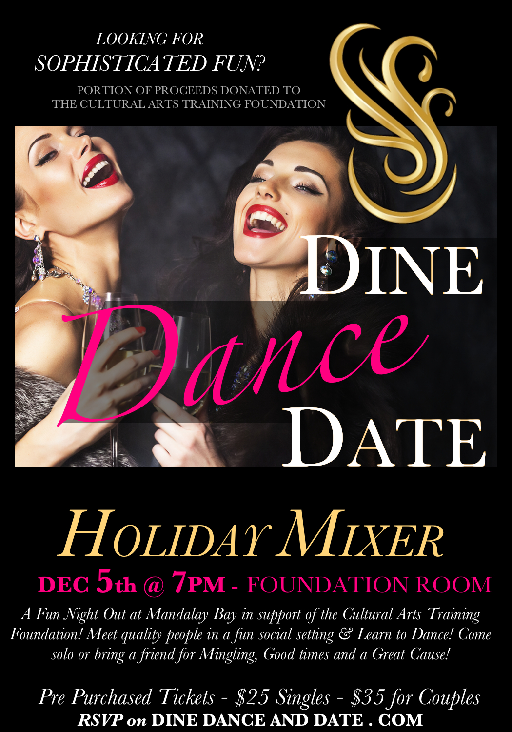 Holiday Foundation Room Invitation