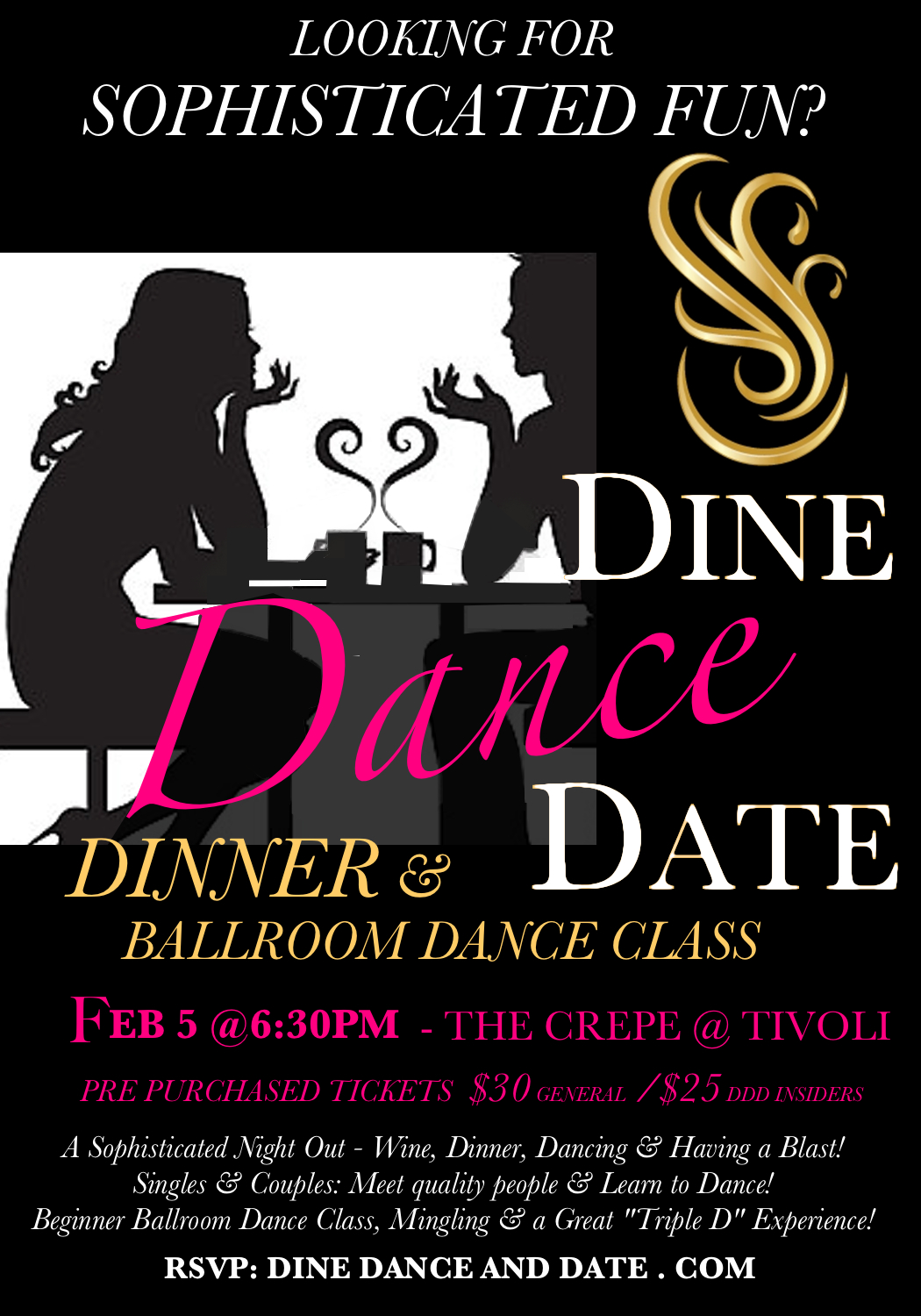 Dinner Dance at Crepe