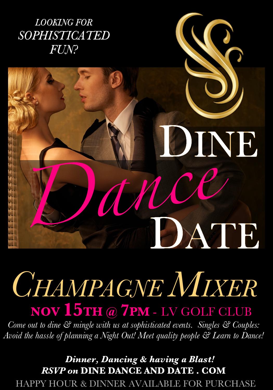 Nov 15 Champagne Mixer